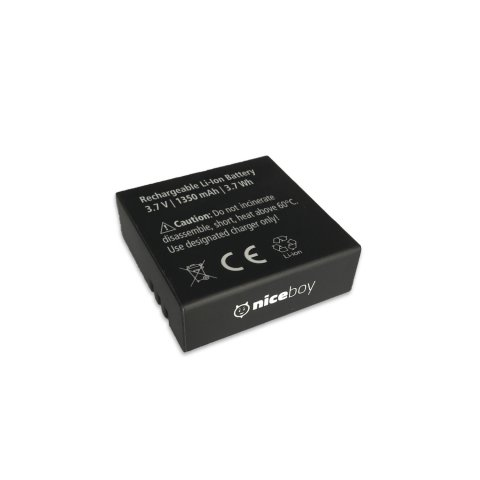 Battery 1350 mAh for Niceboy VEGA X PRO 0